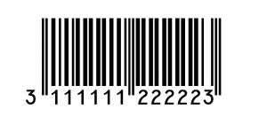 code barre associé
