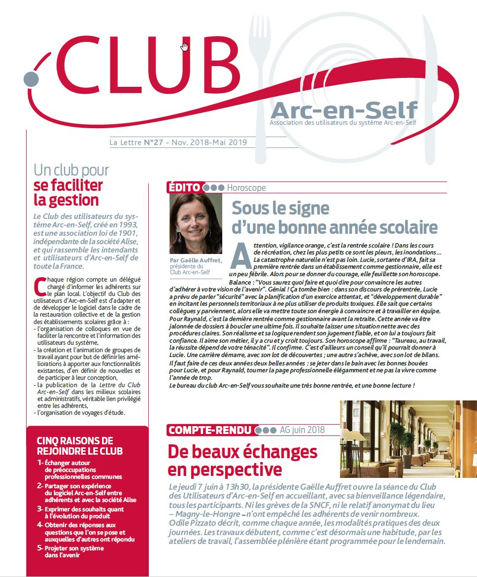 Club Arc en self-mai 2019
